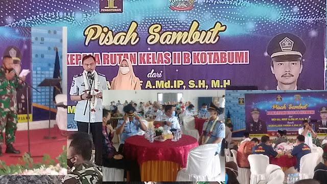 Pisah Sambut Kepala Rutan Kelas 11 Kotabumi dihadiri FORKOPIMDA Lampung Utara