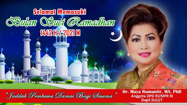 Maya Rumantir: Bulan Suci Ramadhan, Momentum Instrospeksi Diri