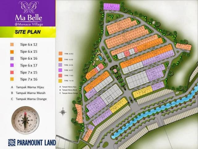 Perumahan Di Serpong Monaco Village Selangkah Dari Summarecon Mall Serpong