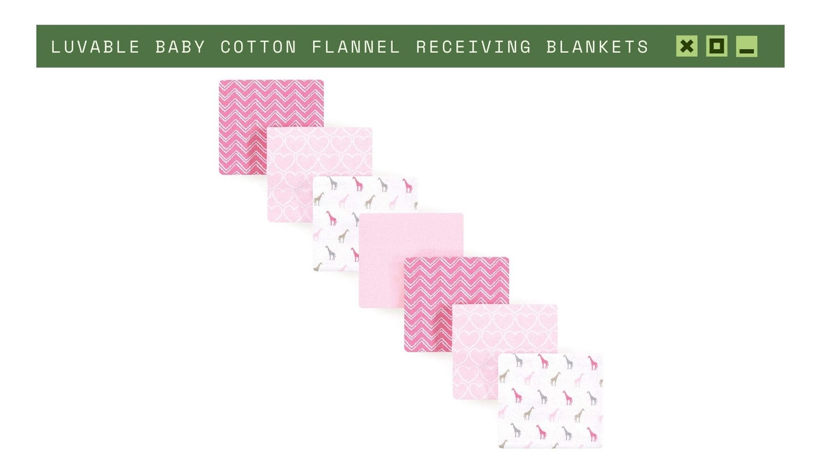 Shopping for newborn baby Luvable Blankets