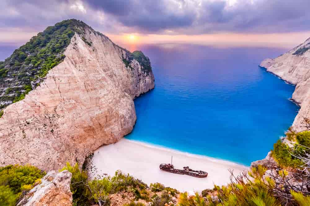 navagio, navagio beach, greece islands, navagio beach greece, universalhindifacts, navagio beach in zakynthos island greece,