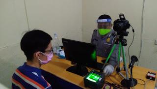 Operasi Patuh Lodaya 2020 Pemohon Pembuatan SIM Masih Stabil Di Polres Cirebon Kota
