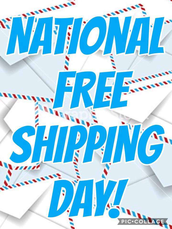 National Free Shipping Day Wishes For Facebook