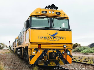 Indian Pacific train engine info Data India