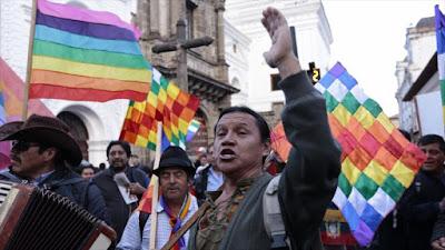 Una manifestación contra el Gobierno de Ecuador en Quito, capital, 25 de agosto de 2016.