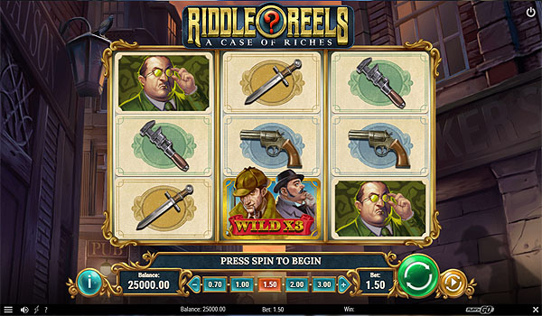 Main Gratis Slot Indonesia - Riddle Reels (Play N GO)