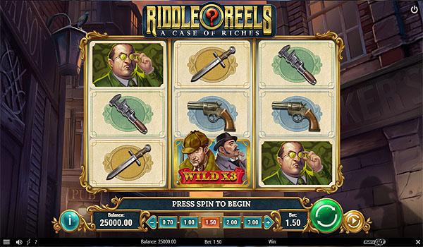 Main Gratis Slot Indonesia - Riddle Reels (Play N GO)