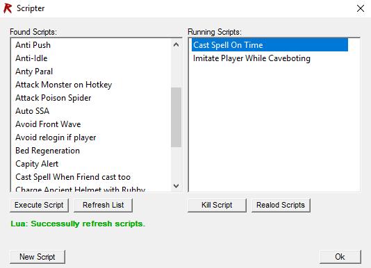Rifbot Lua scripts