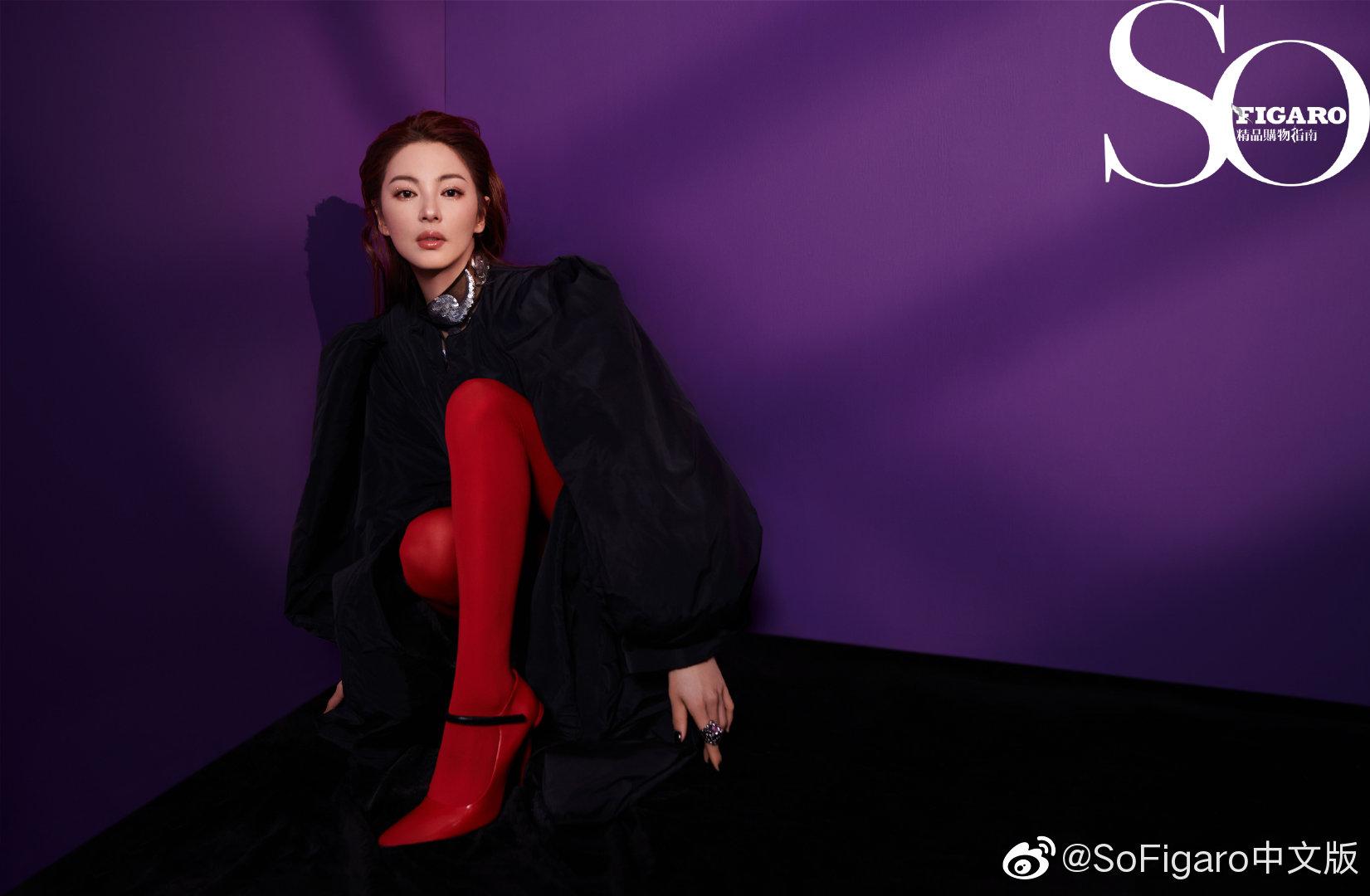 , Zhang Yuqi poses for photo shoot