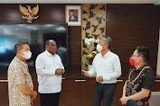 Diterima Wamen Kementrian PUPR, FDW Lobi Pembangunan Infrastruktur Minsel