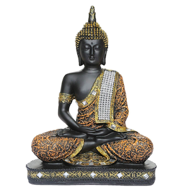 Sitting Buddha Idol Showpiece for Beautiful Home