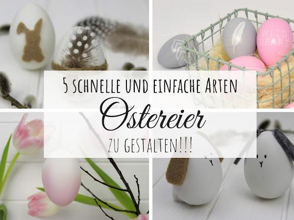 Ostereier bemalen, färben oder doch bekleben? Hier findest du die 5 coolsten Arten, Ostereier zu gestalten!!!