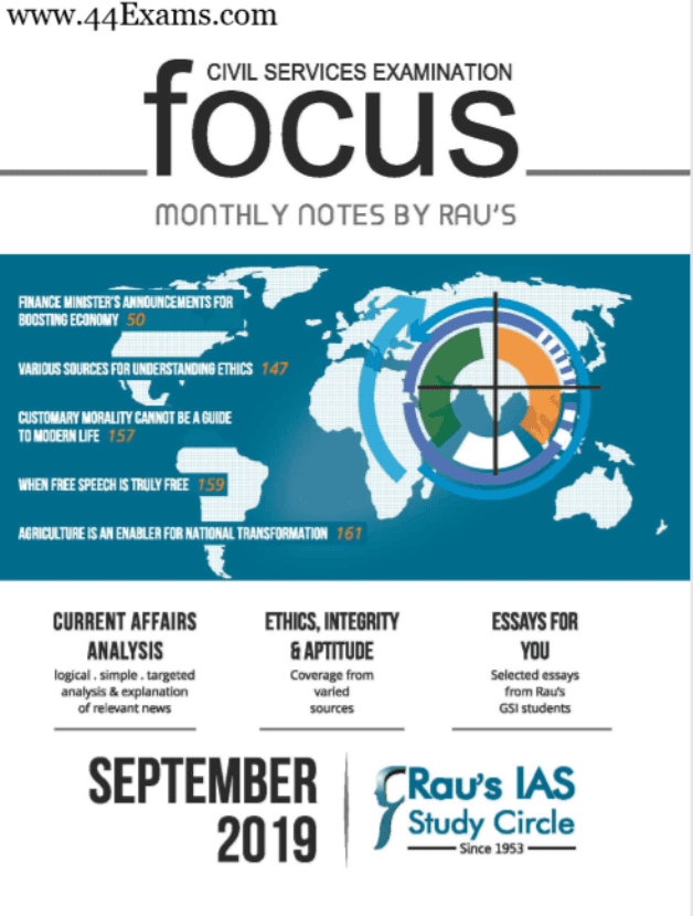 Focus-Monthly-Notes-September-by-RAU'S-For-UPSC-Exam-PDF-Book