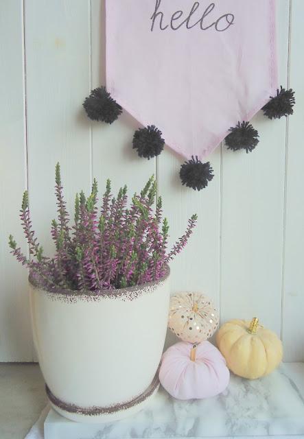oryginalna dekoracja na jesień, kuchnia