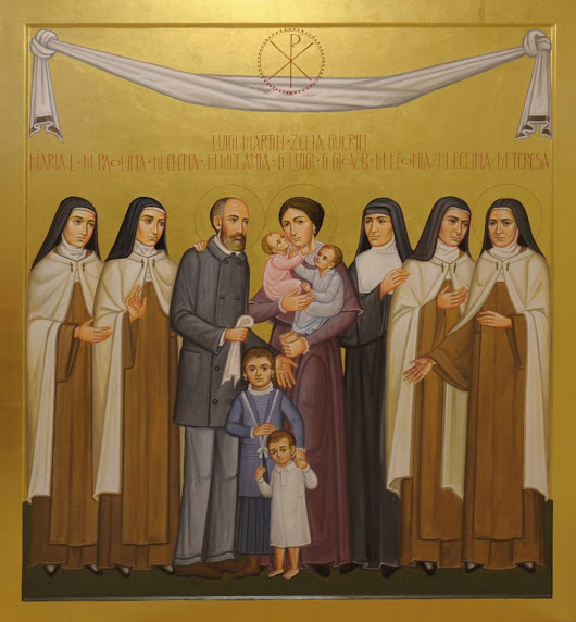 Happy Feast of Sts. Louis and Zélie!