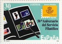 50 ANIVERSARIO DEL SERVICIO FILATÉLICO DE CORREOS