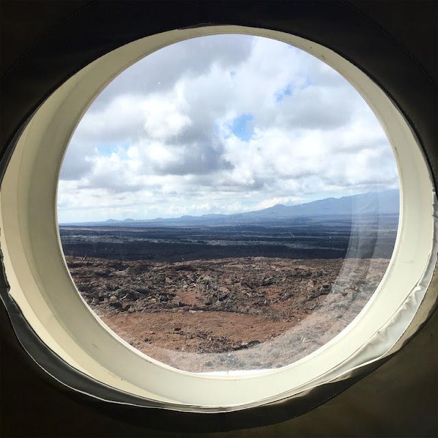 janela - base que simula base em Marte
