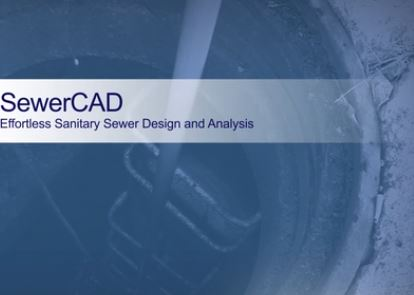 دورات تعليم برنامج سويركاد SewerCad على الأنترنت و مجاناً