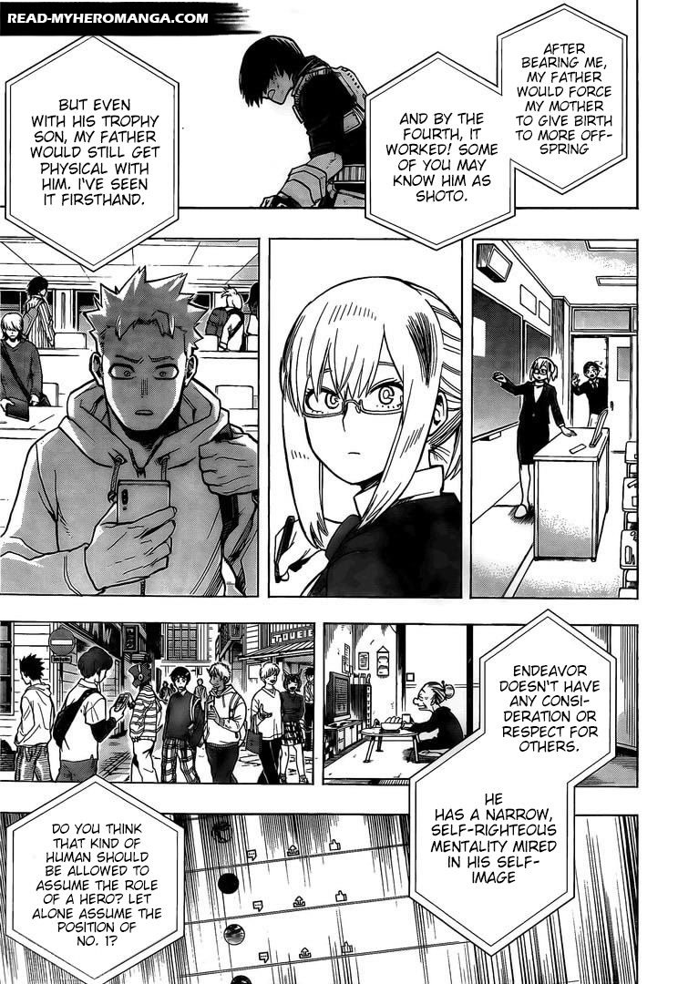 Boku No Hero Academia, Chapter 291