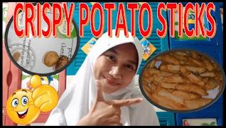 How to Make Crispy Potato Sticks