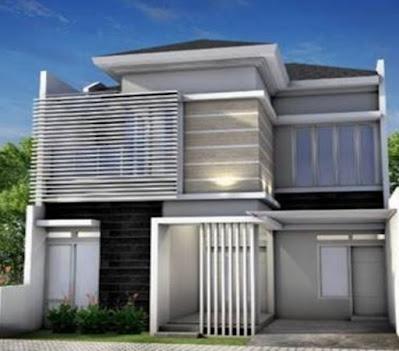 10 desain rumah minimalis 2 lantai 2020 terfavorit - fatih