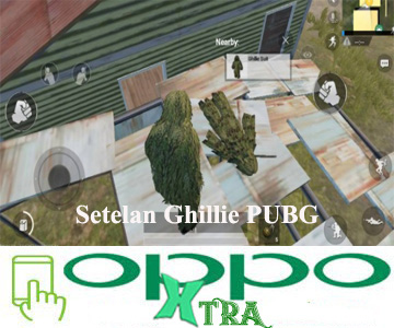 Setelan Ghillie PUBG
