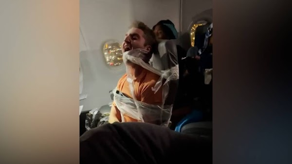 United Airlines Passenger Taped to Seat for Groping and Punching Flight Attendants
