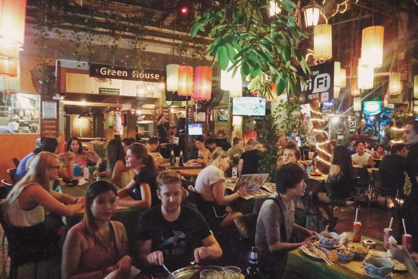 Khao San Road - Pubs and Restaurants