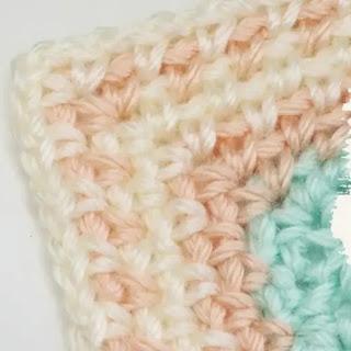 Borde recto a Crochet
