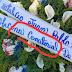 "Que ""burrada"" ortografica: Dedicatoria ofrenda floral  causa revuelo"