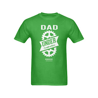 GOMAGEAR Dad Under Construction T-Shirt