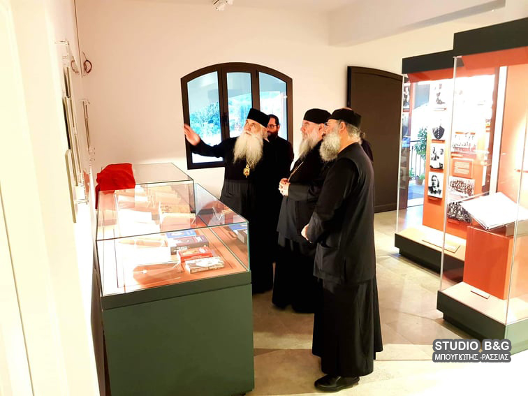 Ο Μητροπολίτης Λεμεσού στον Ιερό Ναό του Αγίου Λουκά στην Αργολίδα