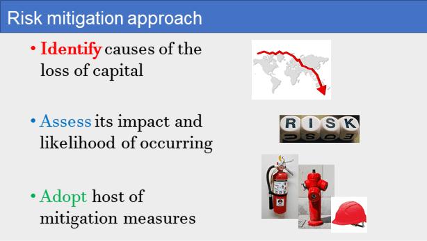 Risk mitigation approach