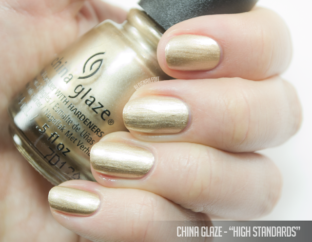 China Glaze - High Standards