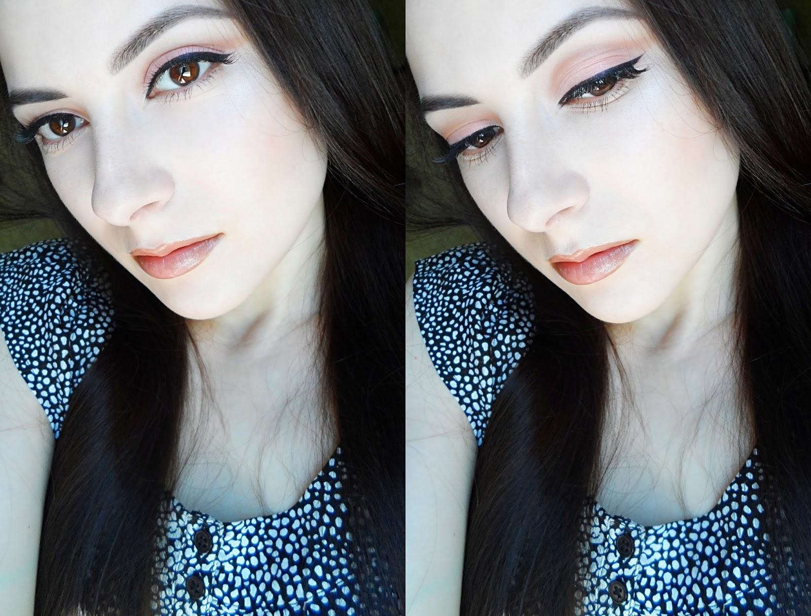 liz breygel makeup bridal soft simple everyday makeup look tutorial blogger pictures