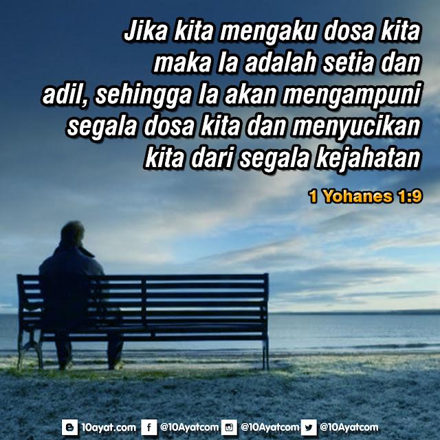 1 Yohanes 1:9