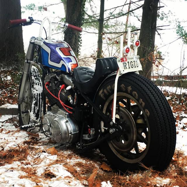 Harley Davidson Sportster By Geoff Cunningham Hell Kustom