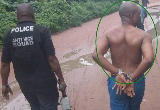 ritualist arrested Mbaitoli Imo State