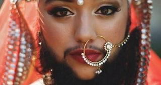 Seorang Model Wanita Cantik Berjenggot,Membuat Heboh Dunia Maya, Harnaam Kaur