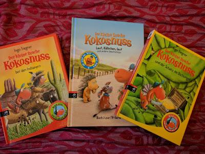 Gewinnspiel: Der kleine Drache Kokosnuss - Bücher