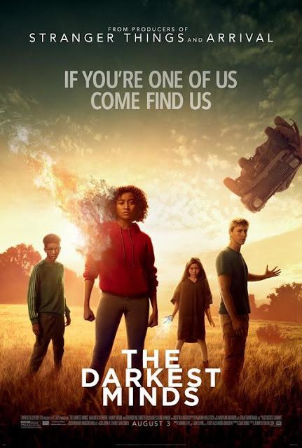 The Darkest Minds 2018 movie poster