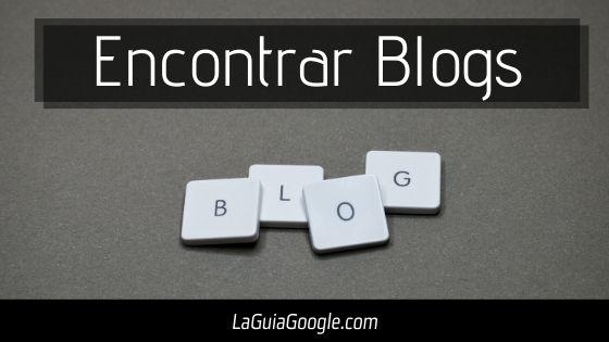 buscar Blogger