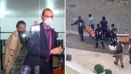 advogado abandona defesa patroa agressao carcere