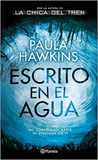 Escrito en el agua de Paula Hawkins