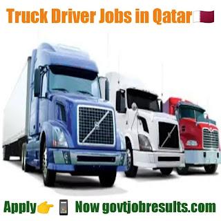 Truck Driving Jobs in Qatar 2020-21