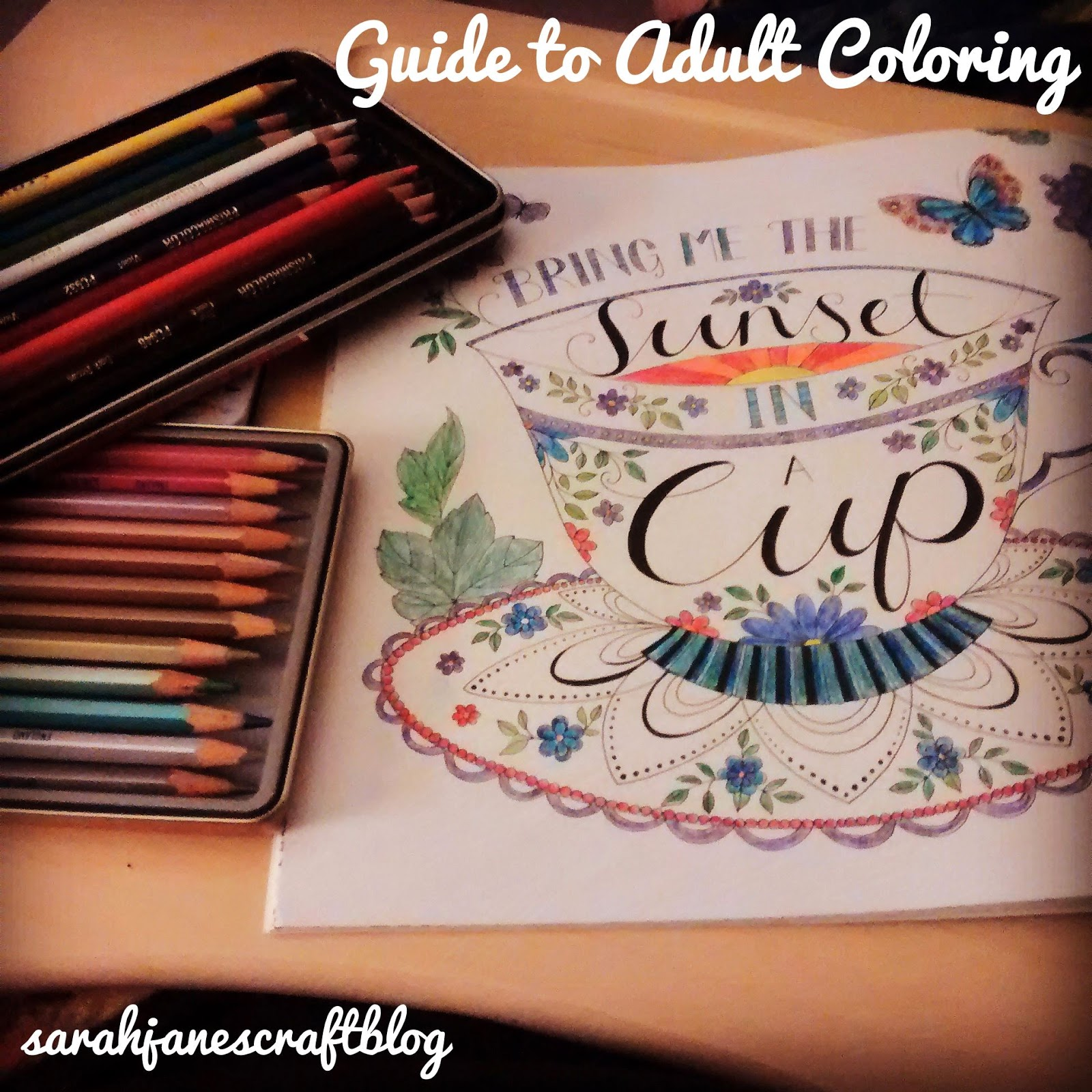 Guide To Adult Coloring Books