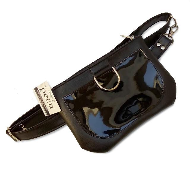 Riñonera Bolsillo Aro en Color Negro | Mod. 130