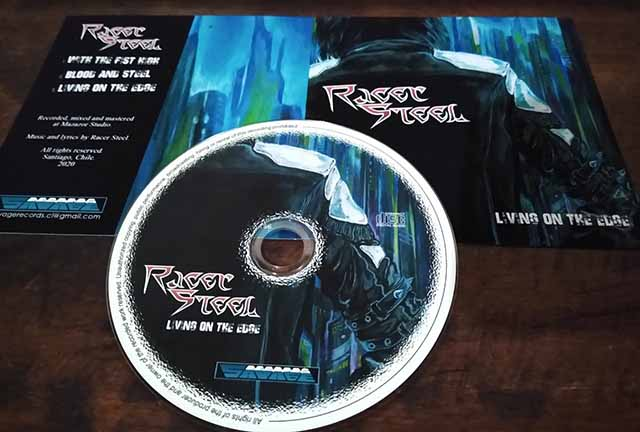 "Το ep των Racer Steel ""Living on the Edge"""