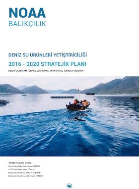 Deniz Su Ürünleri Yetiştiriciliği 2016 – 2020 Stratejik Planı