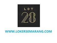 Loker Semarang September 2020 di LOT 28 Coffe & Bar